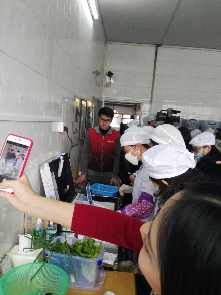 南海区食品药品监督局狮山分局食用农产品快检设备捐赠仪式在狮山举